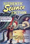 Authentic Science Fiction, October 1952