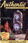 Authentic Science Fiction, January 1954