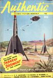 Authentic Science Fiction, August 1954