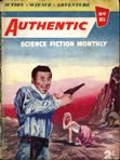 Authentic Science Fiction, October 1957