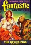 Fantastic Adventures, January 1945