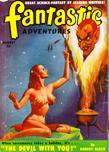 Fantastic Adventures, August 1950