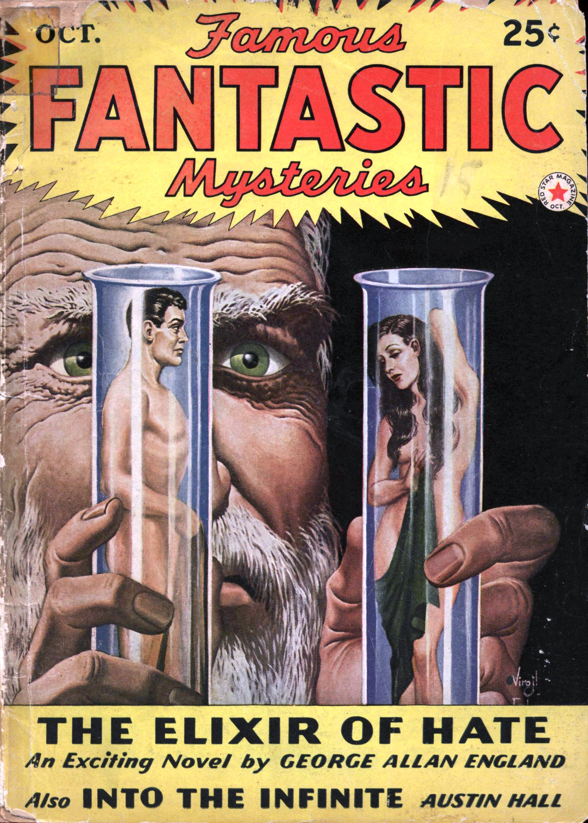 Famous Fantastic Mysteries, October 1942