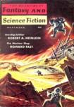 Magazine of Fantasy, November 1959