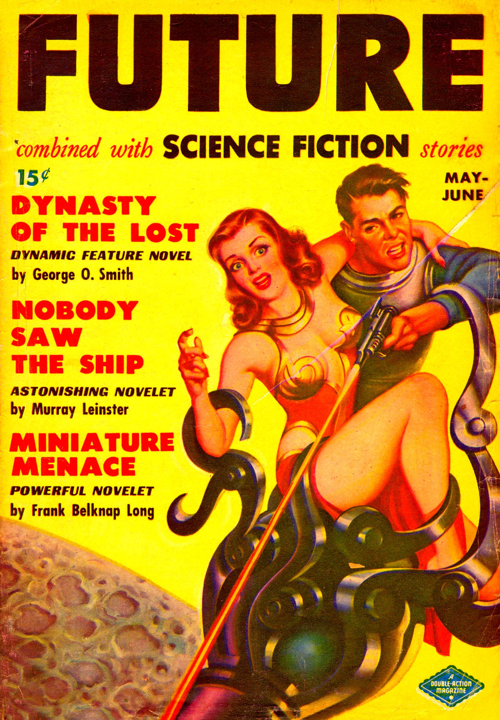 Future Science Fiction, May-June 1950