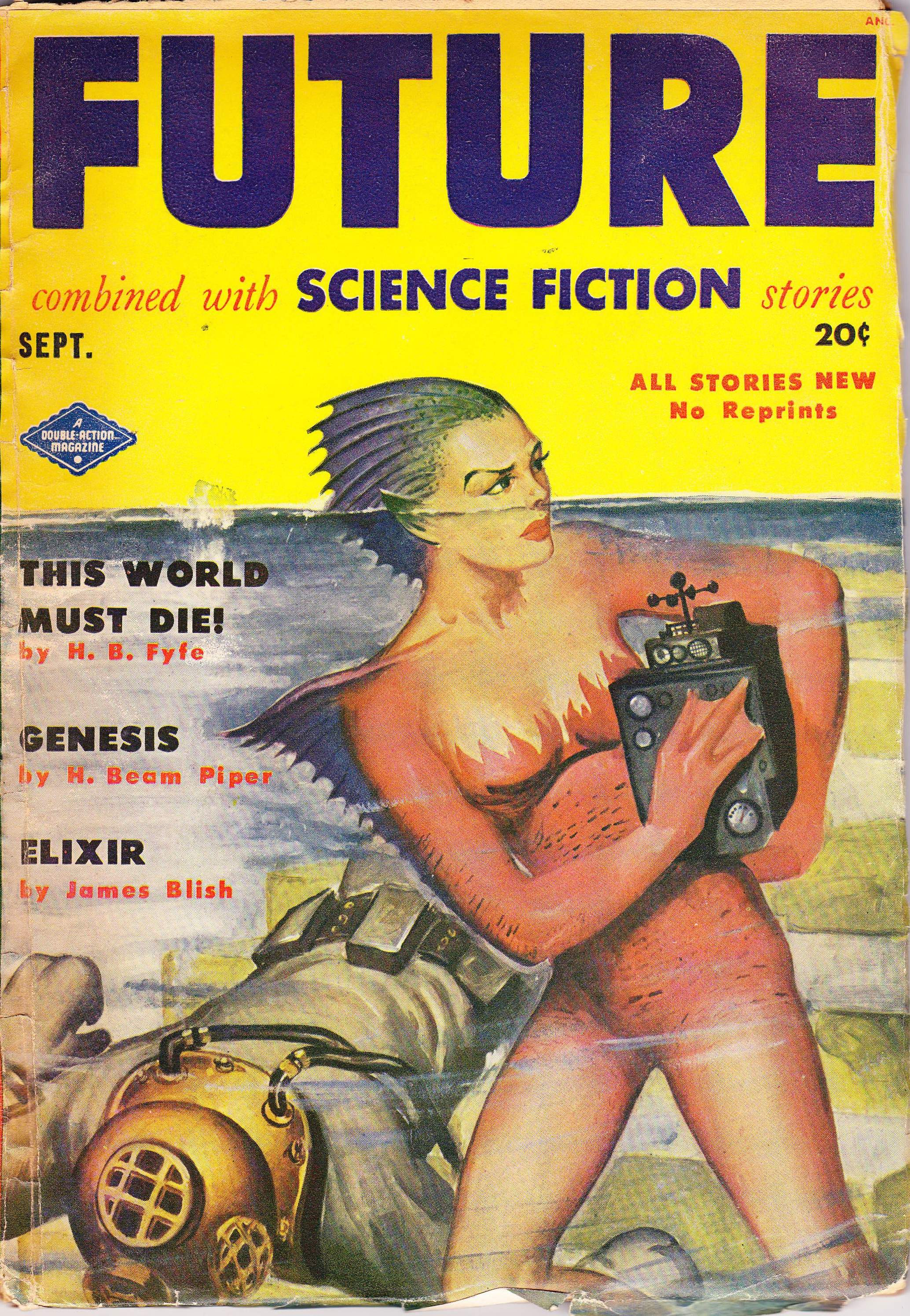 Image - Future combined with Science Fiction Stories, September 1951