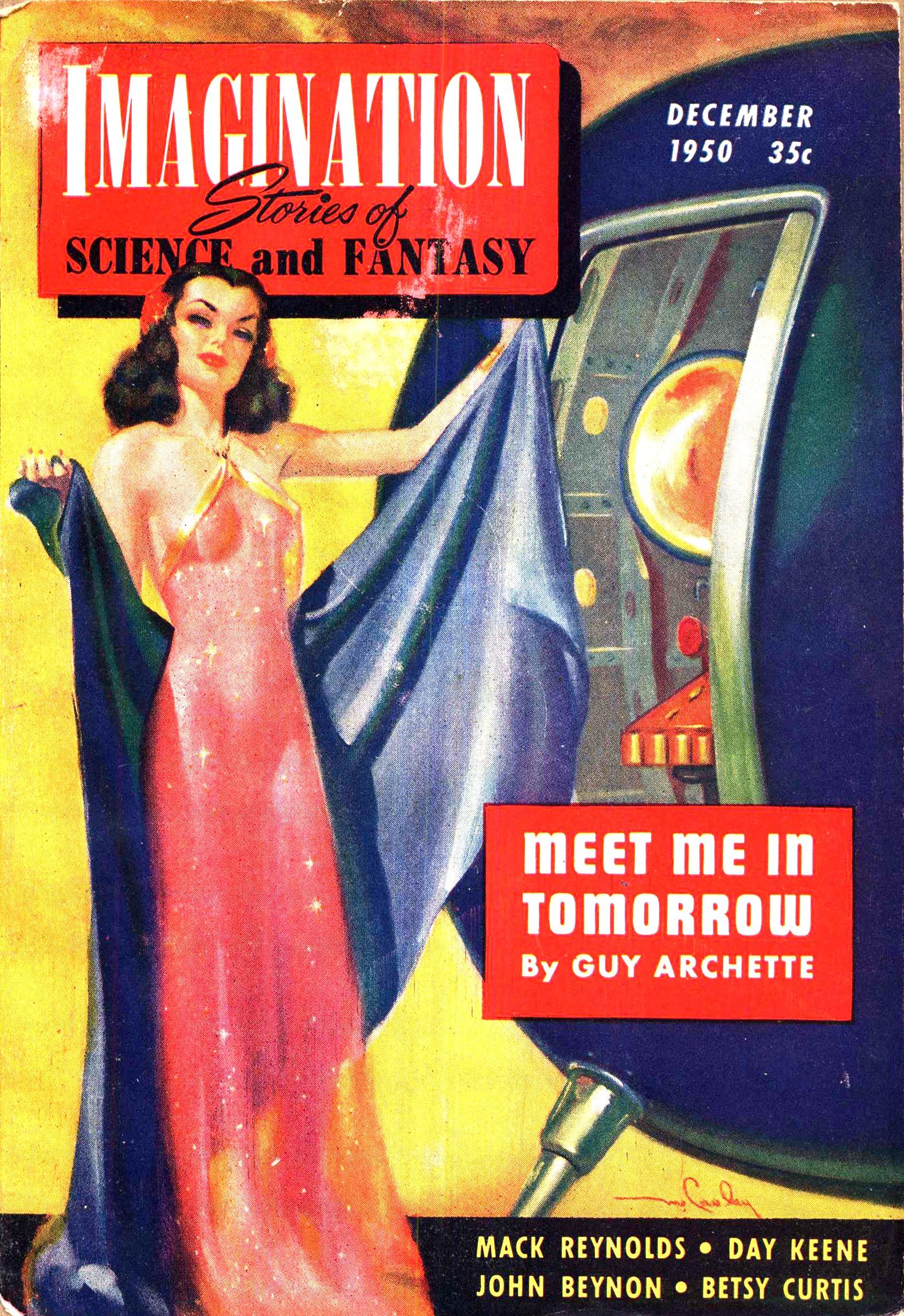 Imagination, December 1950