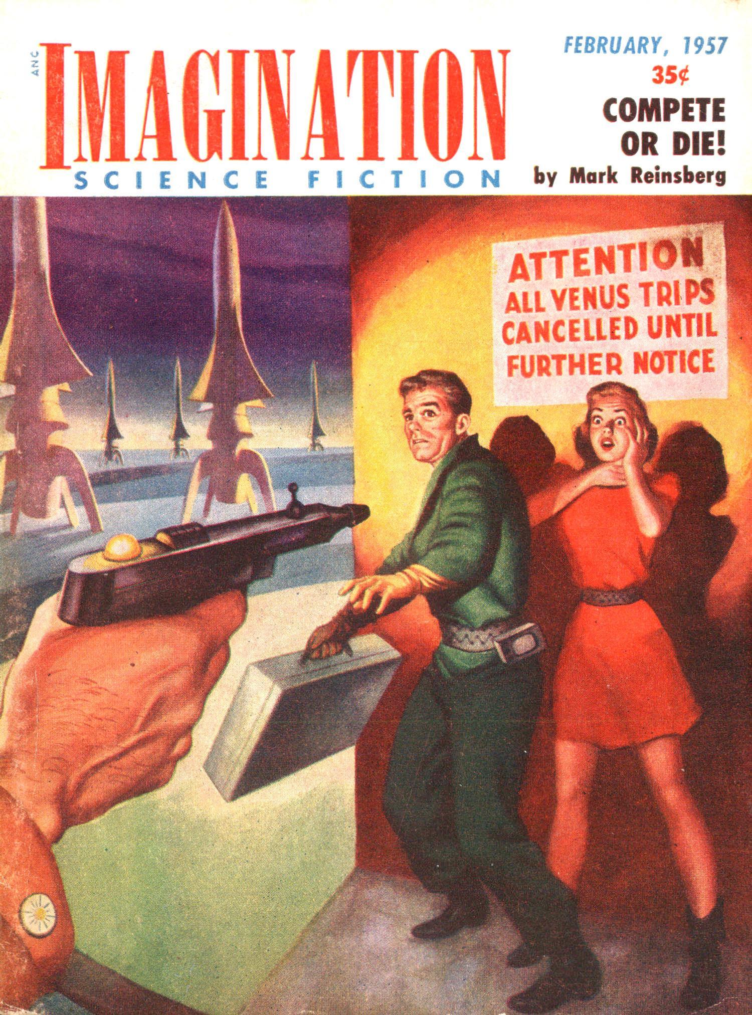 Imagination, February 1957