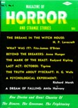 Magazine of Horror, May 1964