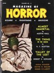 Magazine of Horror, Summer 1966