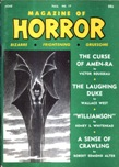 Magazine of Horror, Fall 1967