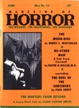 Magazine of Horror, May 1970