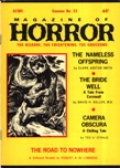 Magazine of Horror, Summer 1970