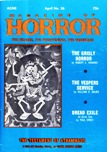 Magazine of Horror, April 1971