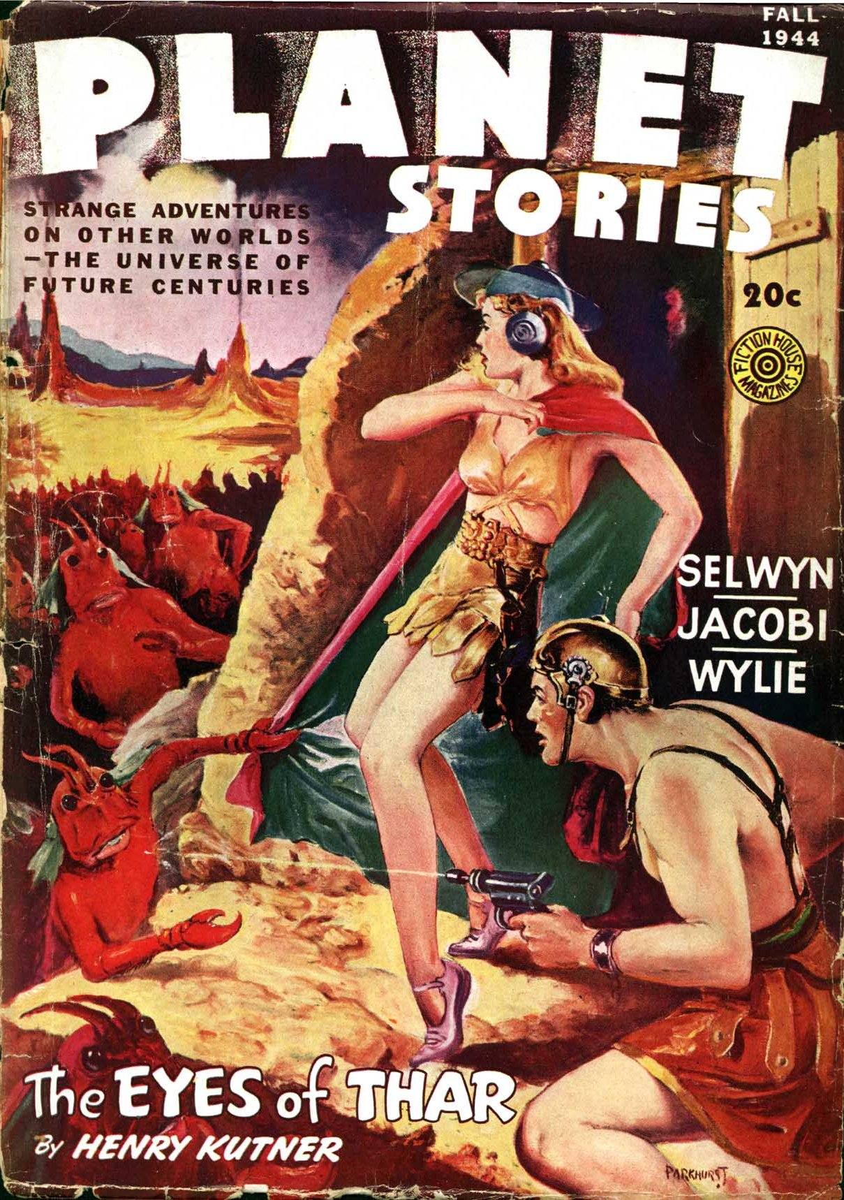 Planet Stories, Fall 1944