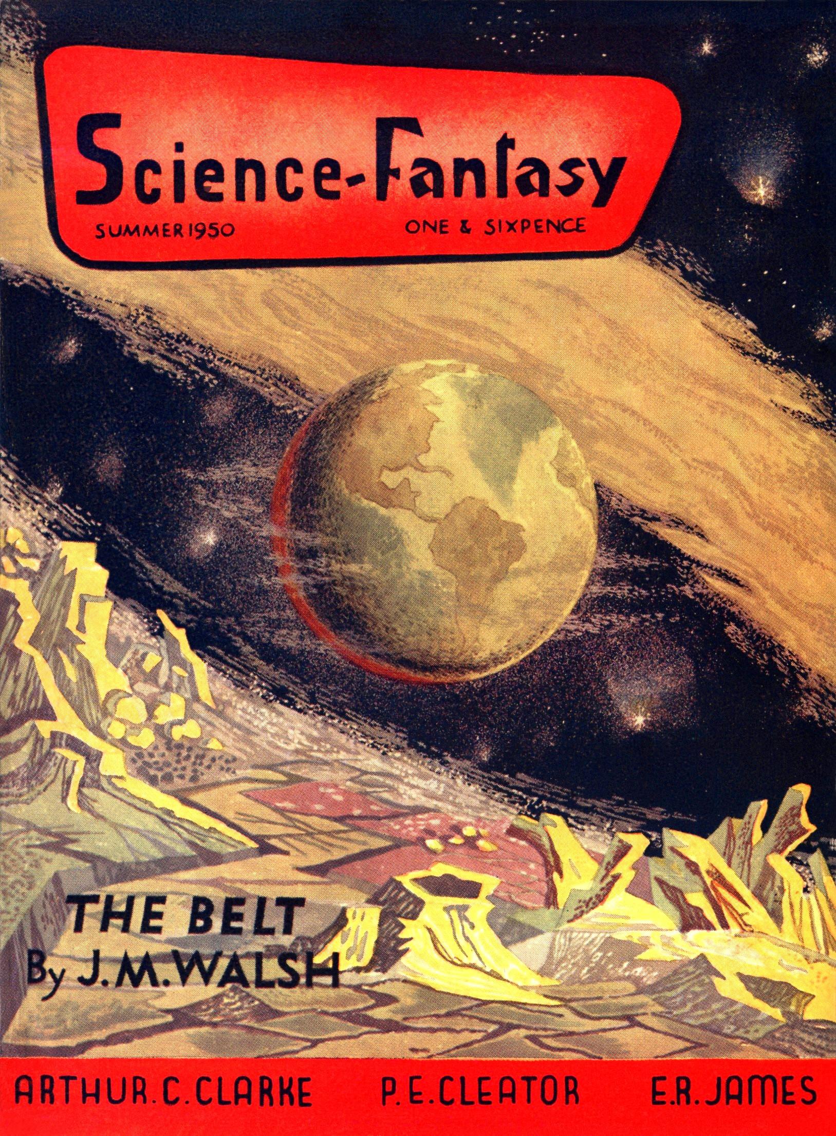 Science Fantasy, Summer 1950