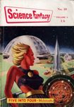 Science Fantasy, September 1954