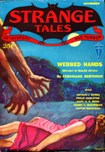 Strange Tales of Mystery and Terror, November 1931