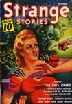Strange Stories, October 1940