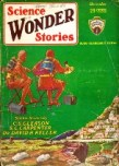 Science Wonder Stories, December 1929