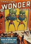 Thrilling Wonder Stories, August 1940