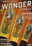 Thrilling Wonder Stories, December 1941