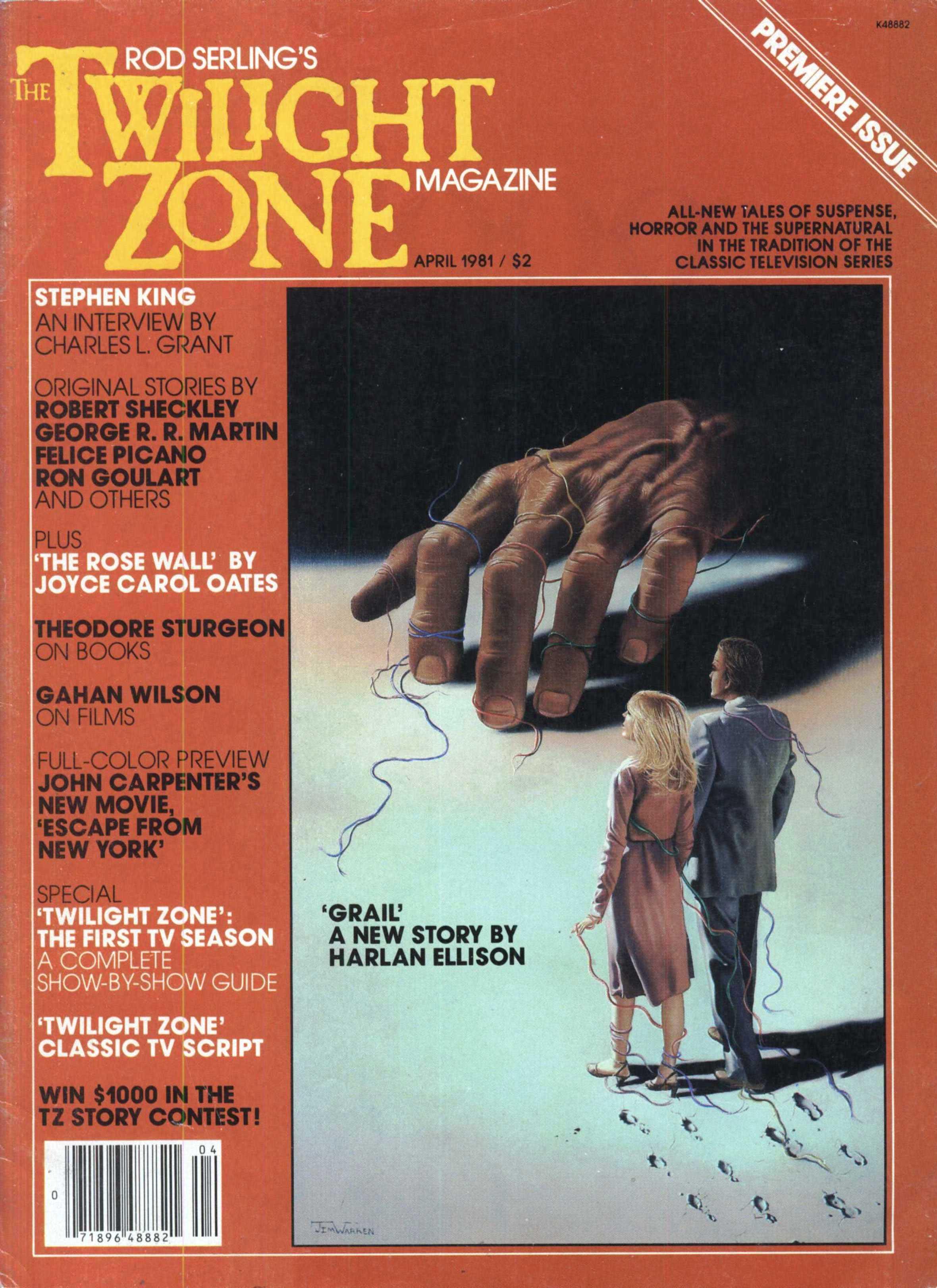Twilight Zone magazine, April 1981