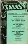 Uncanny Tales, December 1940