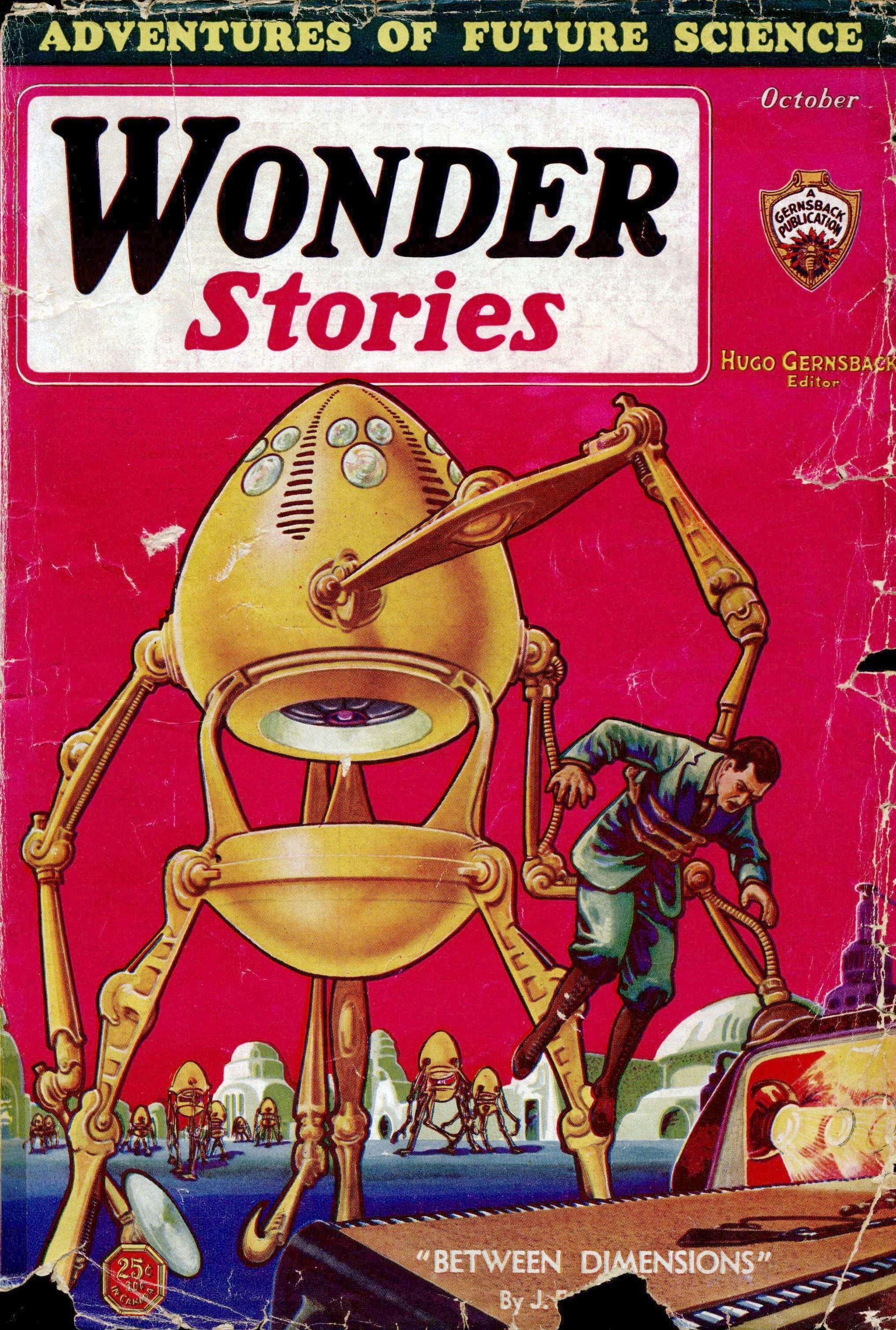 Wonder Stories, October 1931