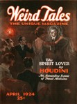 Weird Tales, April 1924