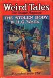 Weird Tales, November 1925