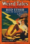 Weird Tales, February 1926