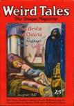 Weird Tales, August 1927