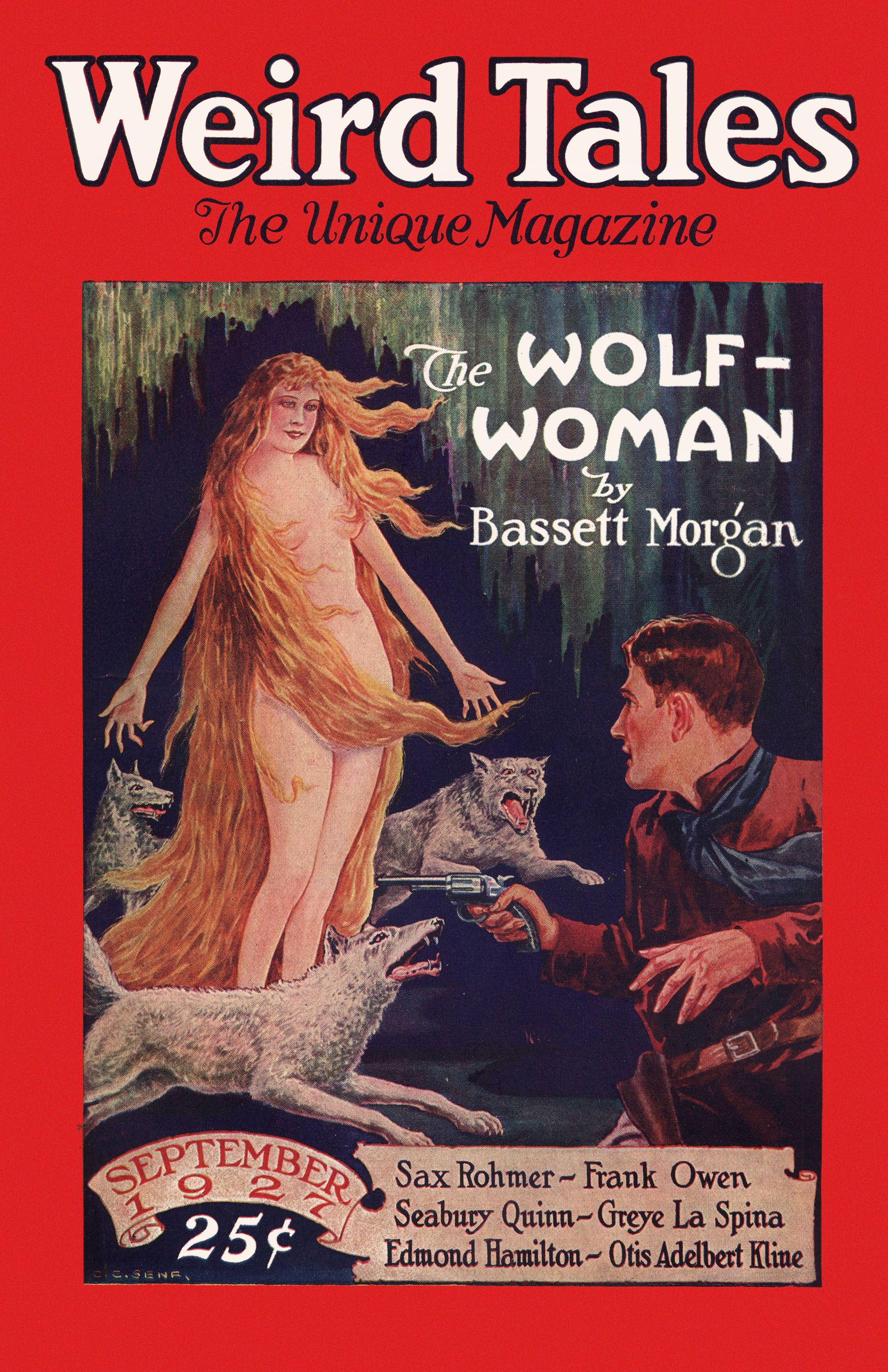 Weird Tales, September 1927