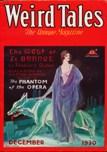 Weird Tales, December 1930