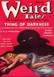 Weird Tales, August 1937