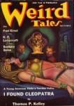 Weird Tales, November 1938