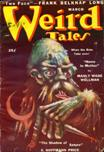 Weird Tales, March 1950