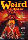 Weird Tales, July 1952