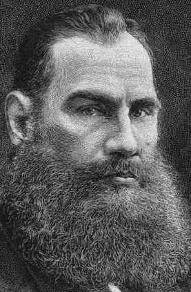 Count Lev Nikolayevich Tolstoy  (1828 – 1910)